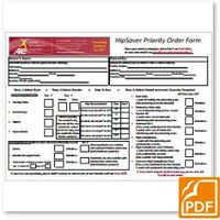 Hp Saver Order Form