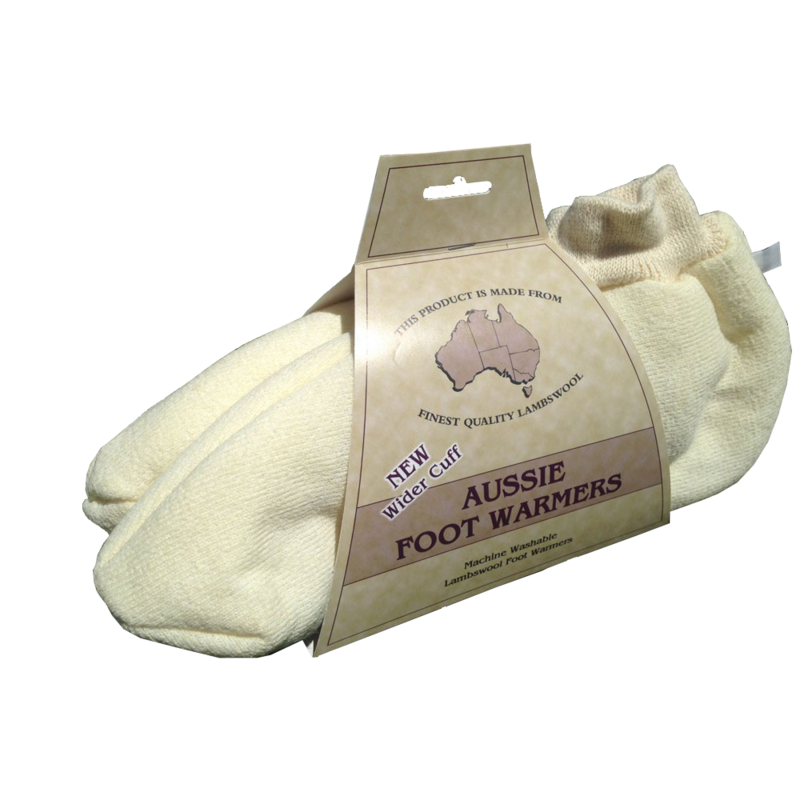 Aussie Lambswool Foot Warmers