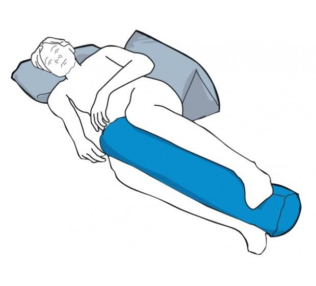CareWave Cylindrical Cushion for night time positioning