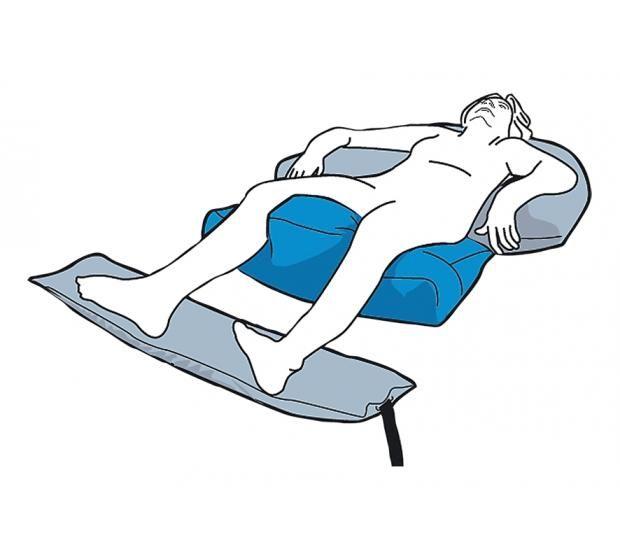 Care Wave SemiFowler Postural Cushion