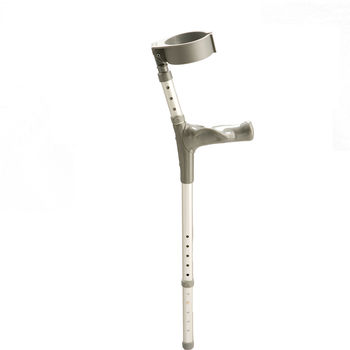 Cumfy Handle Adjustable Elbow Crutches
