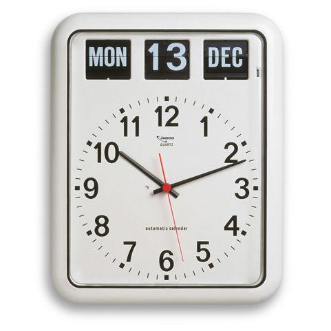Jadco Analogue Calendar Clock