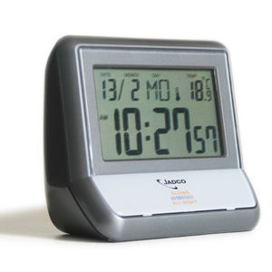 Jadco Bedside Calendar Alarm Clock with Night Light