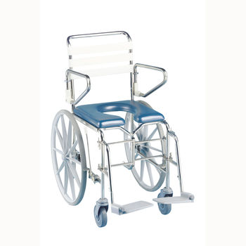 KCare Folding Self Propelled Commode