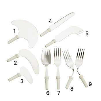 Kings Modular Cutlery  Forks and Knives