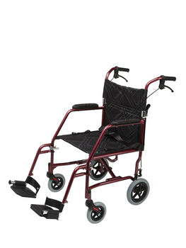 Lightweight Compact Folding Wheelchair