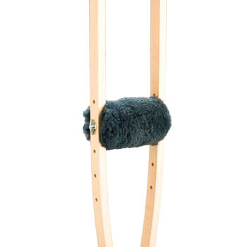 Sheepskin Grips to suit Crutches