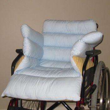 Silicone Fibre Wheelchair Pad