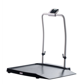 Wheelchair Scale with one wide access ramp