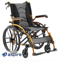 Aspire MetroX Folding Wheelchair - Self Propelled
