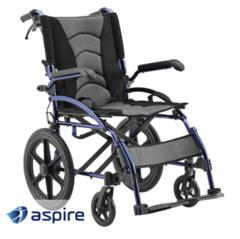 Aspire Metro Folding Wheelchair - Attendant Propelled