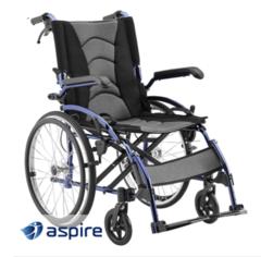 Aspire Metro Folding Wheelchair - Self Propelled