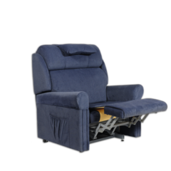 Ambassador A3 Bariatric Lift and Recline Chair for heavy user with leg raise