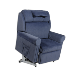 Ambassador A3 Bariatric Lift and Recline Chair in lifted position