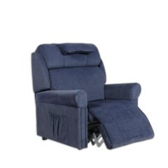 Ambassador A3 Lift Chair with Leg Raised for Lymphedem and fluid issues