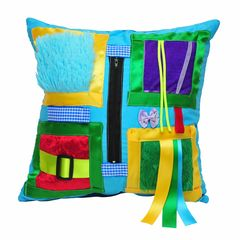 King Fisher Blue Cushion