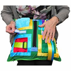 BetterLiving Sensory Cushion with dimentia patient