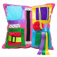 Dotty Pink Cushion
