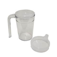Clear Mug -Polycarbonate