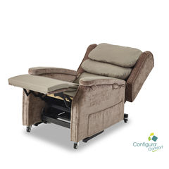 Configura comfort chair in recline position