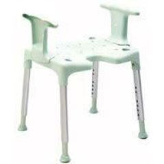 Etac Swift shower chair/stool with arms