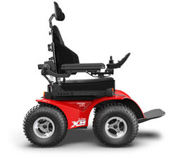 Extreme X8 powered wheelchair electric chair for outodoors with large wheels