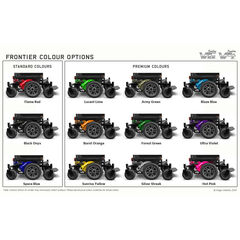 Frontier V6 Powerchair Colour Swatch