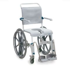 Invacare Aquatec Ocean Mobile Shower Commode - Self Propelled