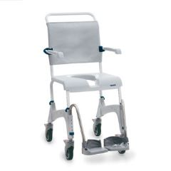 Invacare  Aquatec Ocean Mobile Shower Commode - Transit