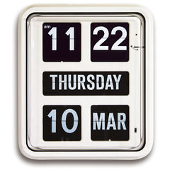 Jadco Day of the Week Calendar Clock