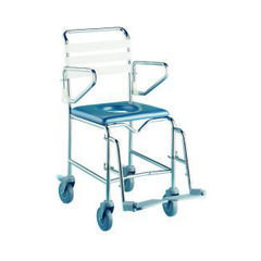 K-Care Attendant Propelled Commode