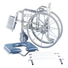 K-Care Folding Self Propelled Commode