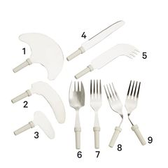 Kings Modular Cutlery - Forks and Knives