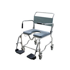 Aspire Bariatric Commode Maxi Plus 60cm Seat Width with Swingaway Footplate