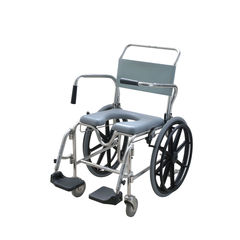 Aspire Self Propelled Commode with Swingaway  Footplate