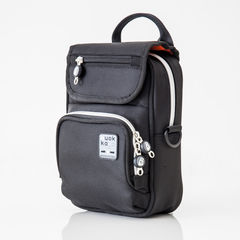 Quokka Vertical Black Wheelchair Bag