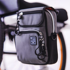 Quokka Vertical Grey Wheelchair Bag