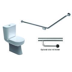 Toilet Grabrail 40° Bend End Mount