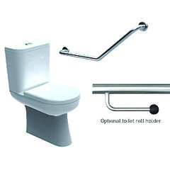Toilet Grabrail 40° Bend Standard Mount