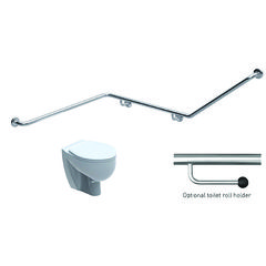 Toilet Grabrail 40° Bend with Rear Rail