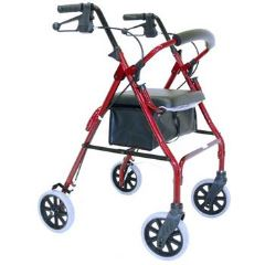 Wheelie Walker - Tall with 8 inch castors